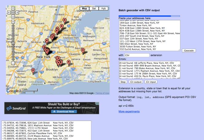 Esa's Google Maps API Experiments