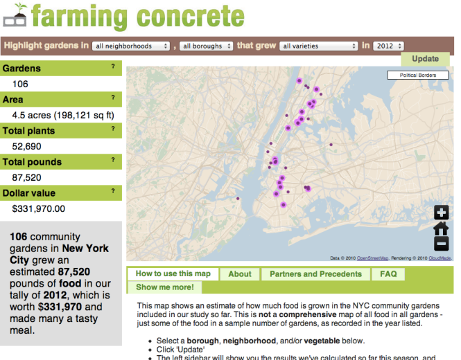 Farming Concrete Interactive Map